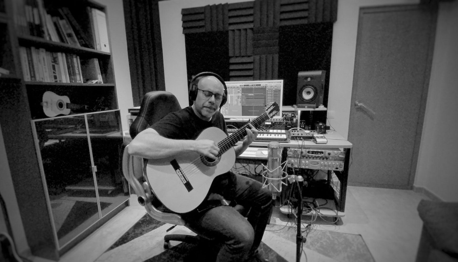 Grabación de guitarras online